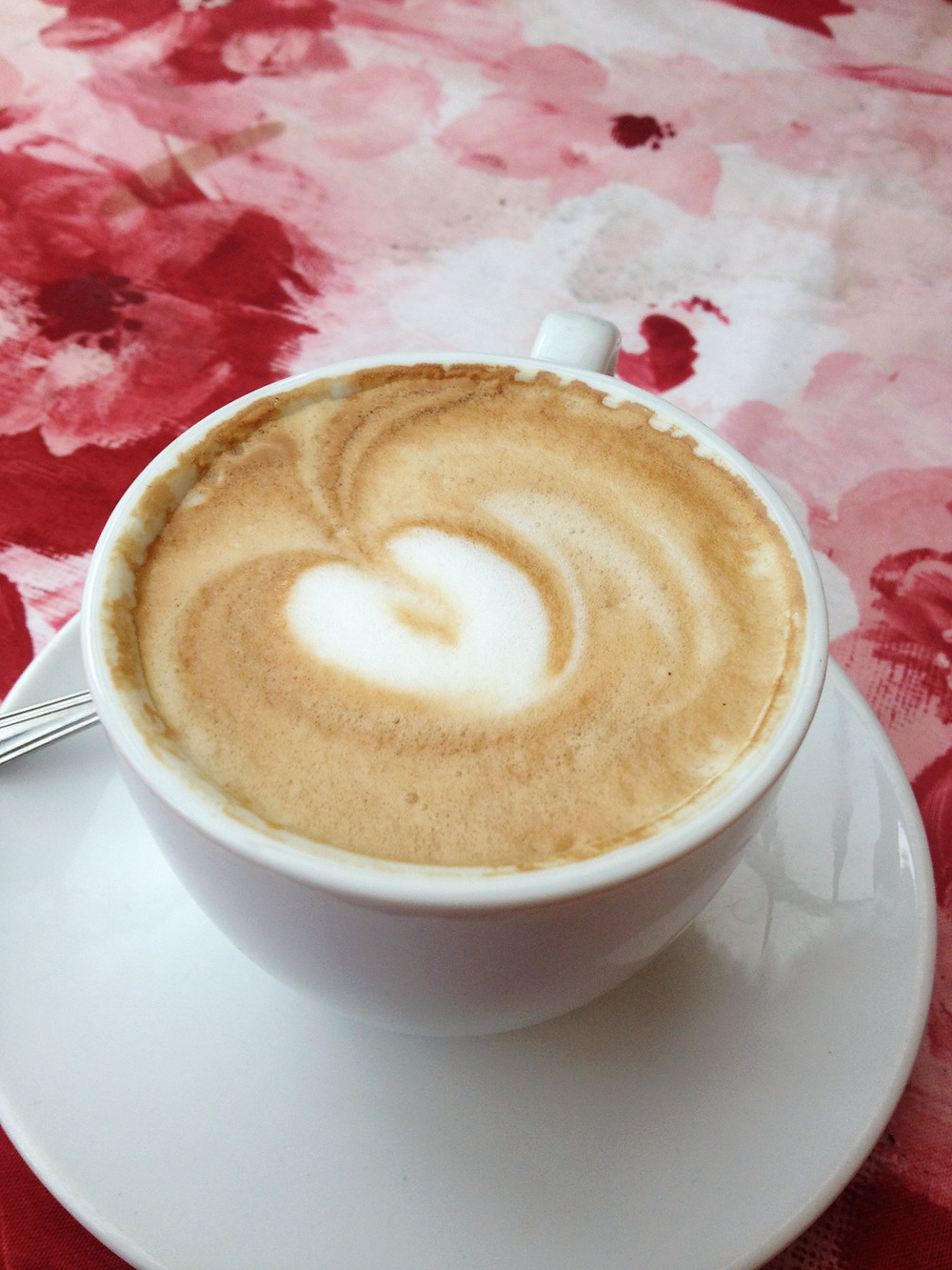 Cappuccino in Varenna, Italy. Photo by Diana Dinverno