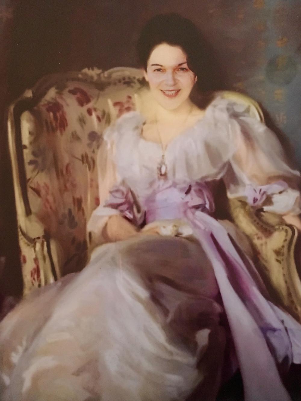 Diana as Lady Agnew of Lachnaw