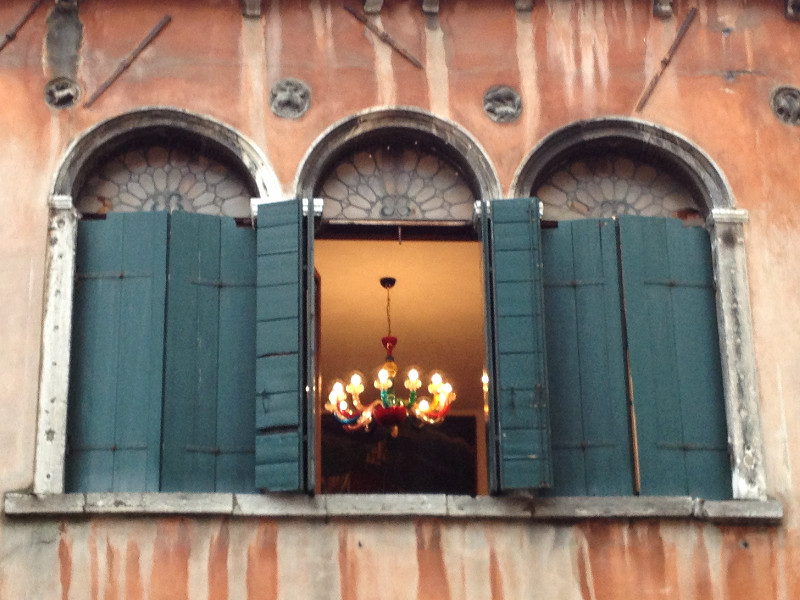 Open window in Venice, Italy. Photo by Diana Dinverno