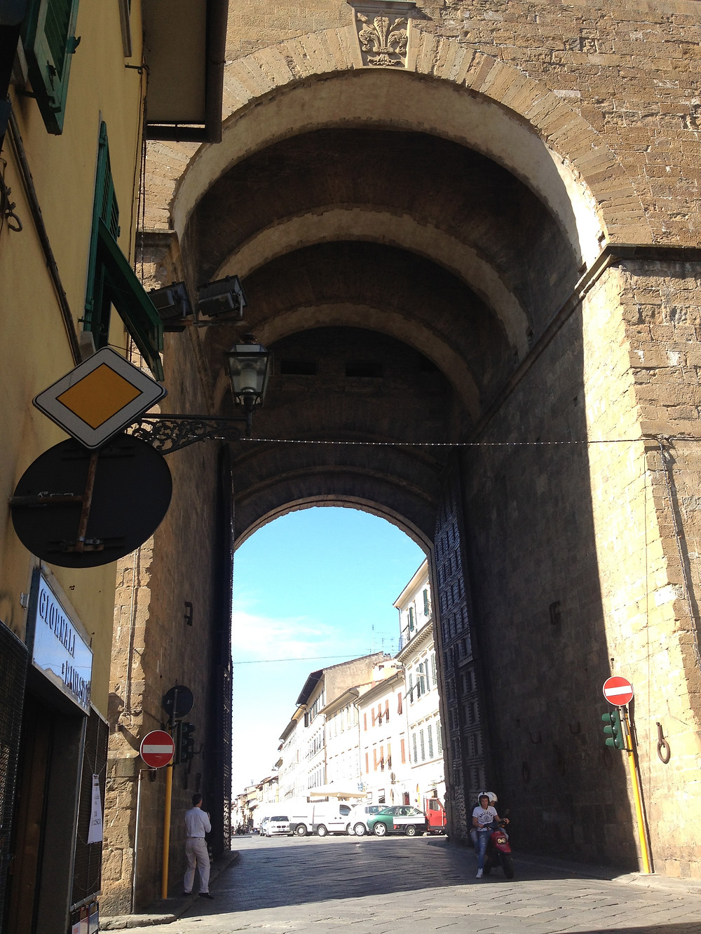 Florence city gate. Photo by Diana Dinverno