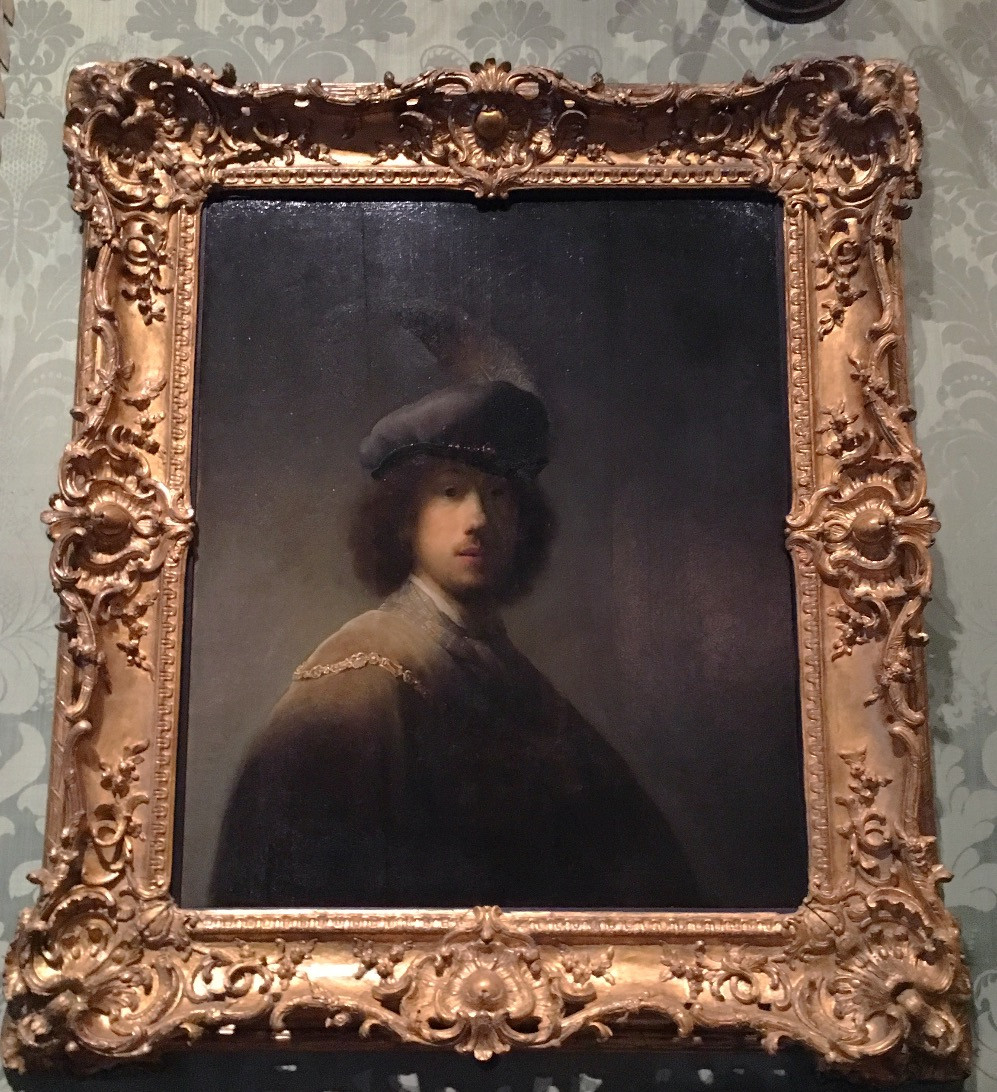 Self-Portrait by Rembrandt van Rijn (1609-1669). Photo by Diana Dinverno.