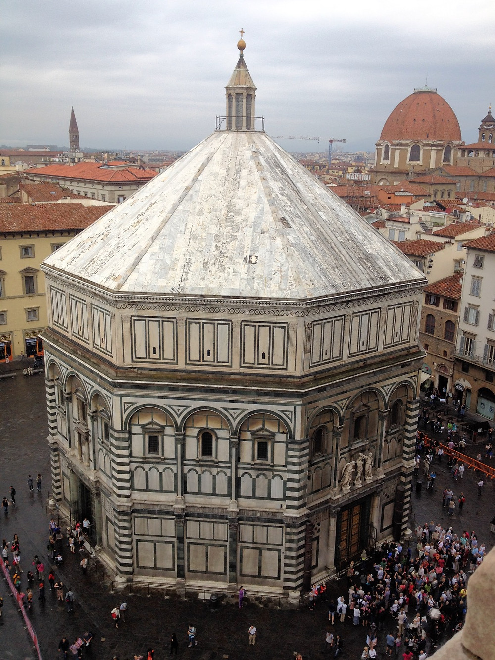 Baptistery of San Giovanni in Florence. Photo by Diana Dinverno