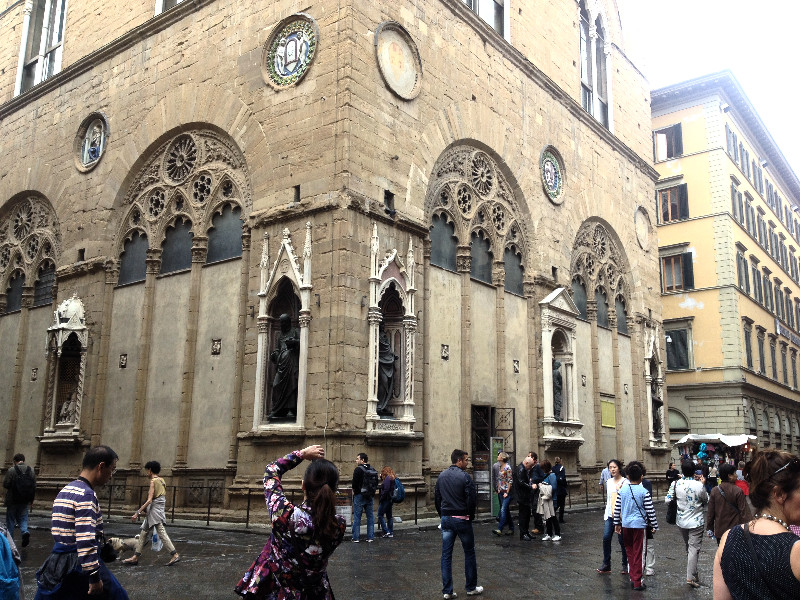 Orsanmichele exterior view in Florence, Italy. Photo by Diana Dinverno