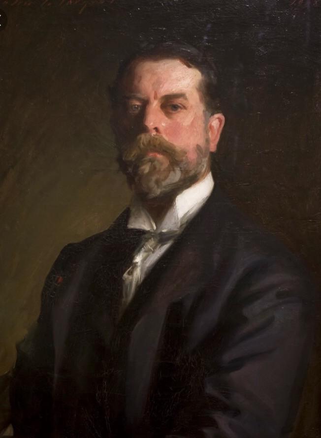 John Singer Sargent self portrait