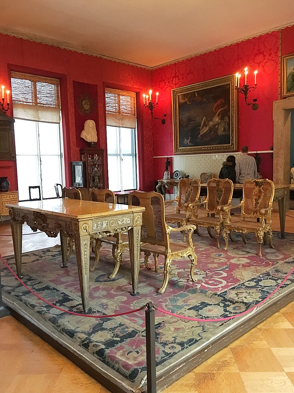 The Titian Room in the Gardner Museum. Photo by Diana Dinverno.