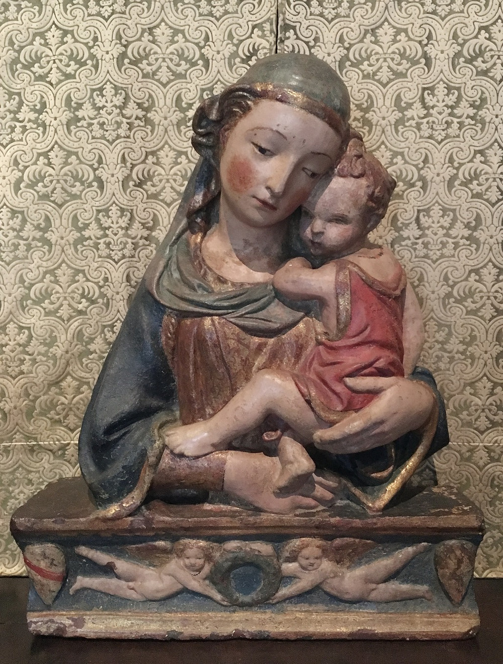 Madonna and Child by Lorenzo Ghiberti. Photo by Diana Dinverno.