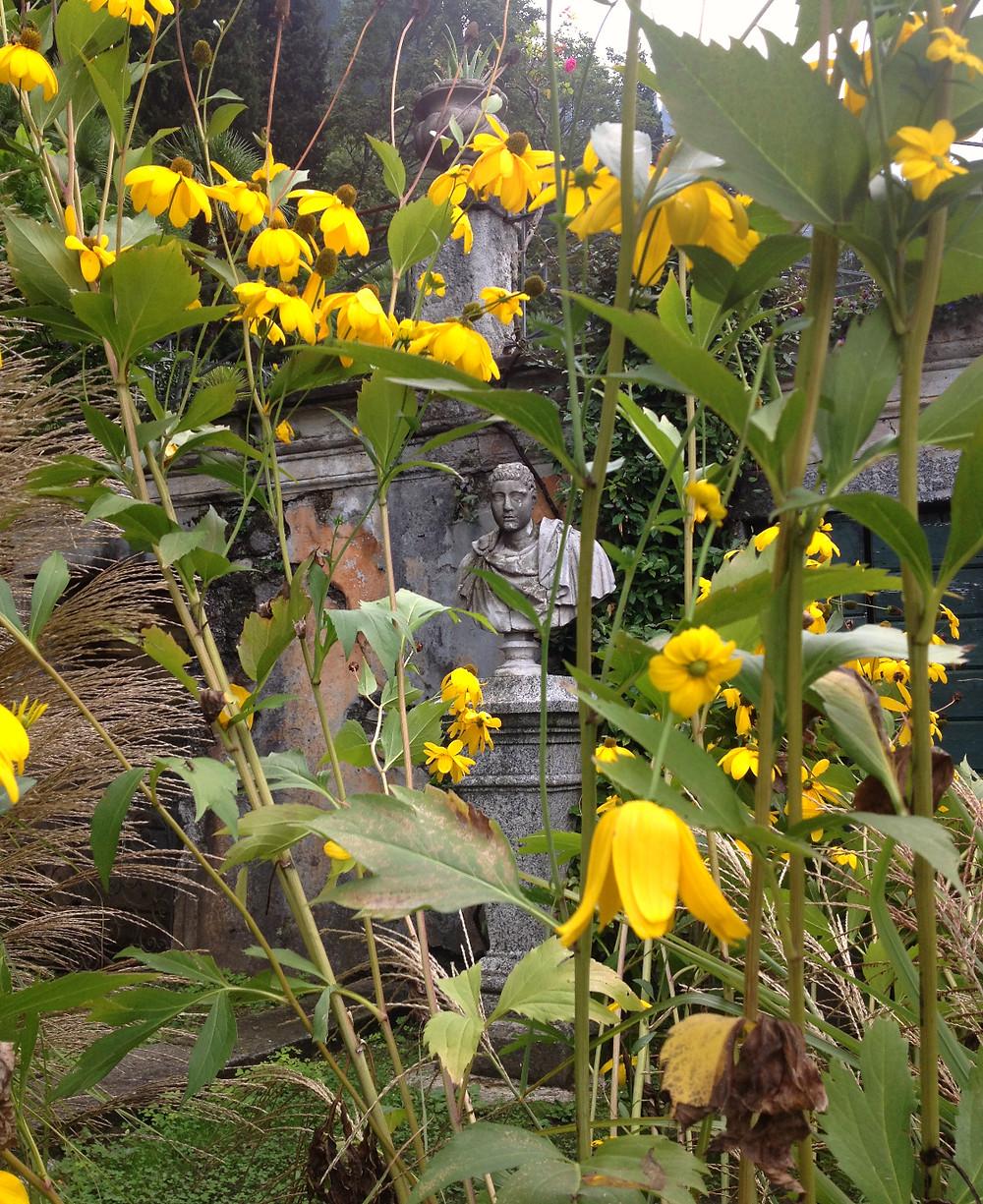 In the gardens of Villa Monastero. Photo by Diana Dinverno