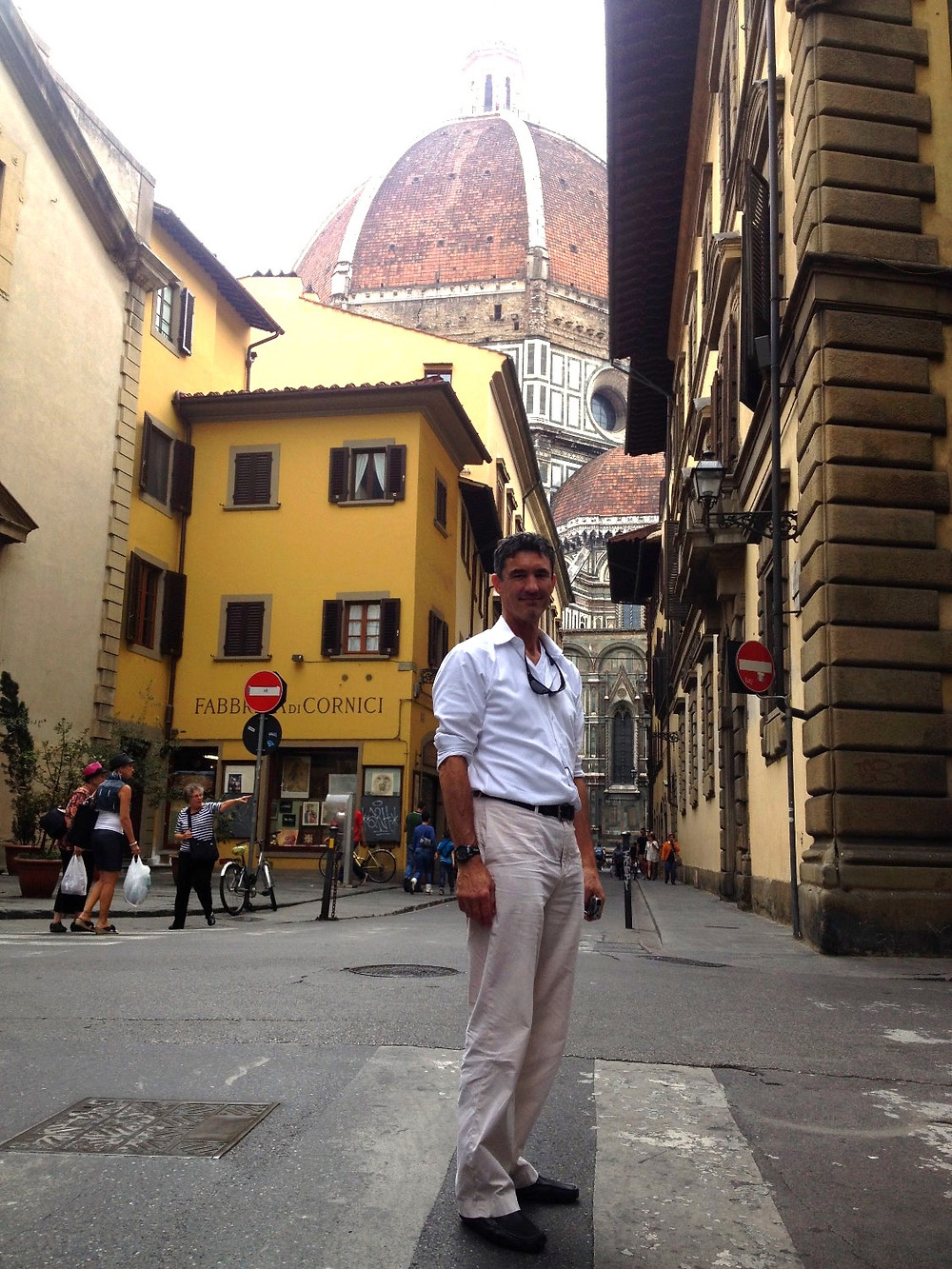 Brunelleschi's Dome from via dei Servi. Photo by Diana Dinverno