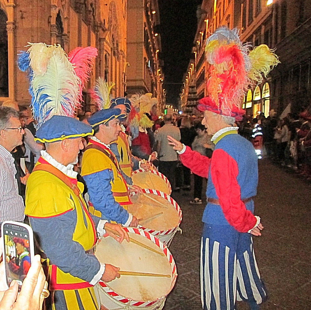 Parade in Florence, Italy. Photo by Diana Dinverno.