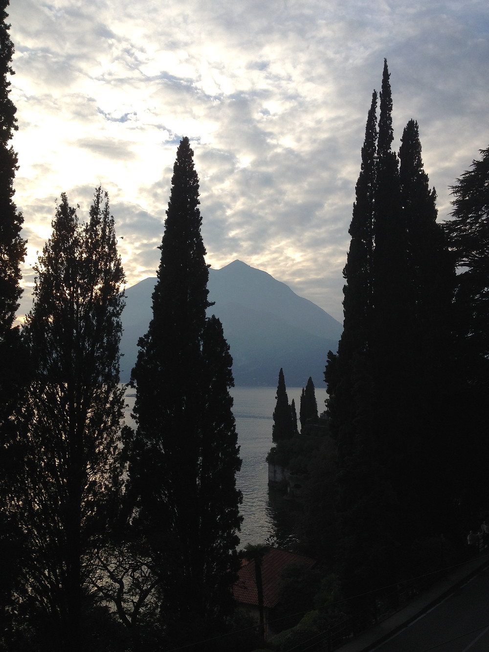 View from Varenna, Italy. Photo by Diana Dinverno