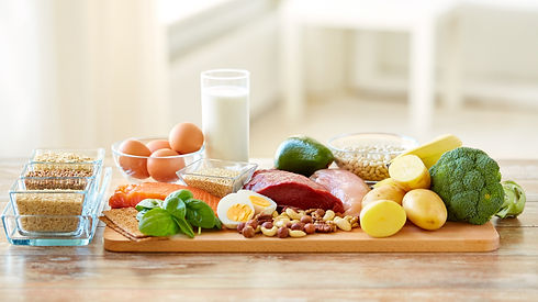 healthy eating and diet concept - natura