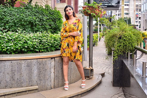 Flowy clothes will make your monsoon easy