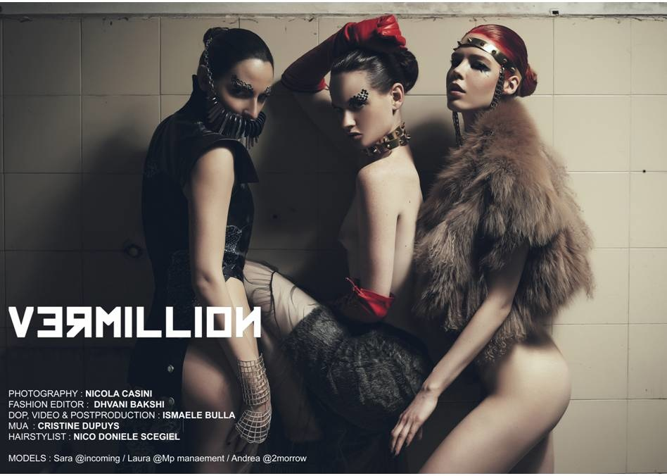 'Vermilion' for Rough Magazine