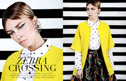 Zebra crossing for Mod magazine