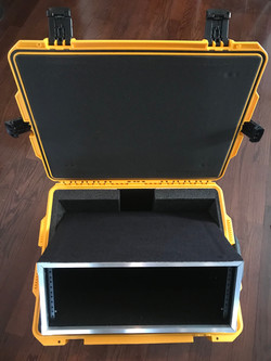 4U FLY WEIGHT PLAYBACK RACK + CASE