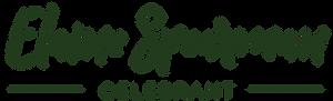 Elaine Spearman Celebrant logo in green