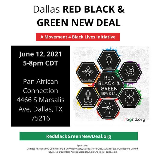 RBGNewDeal on June 12, 5-8 CDT
