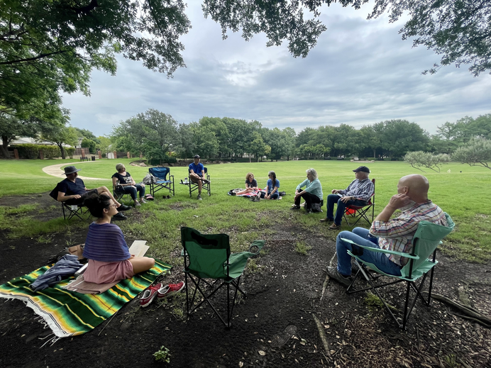 Community Care: Listening Circle + Walk In Nature