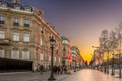 Dawn on Paris