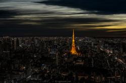 Towering lights