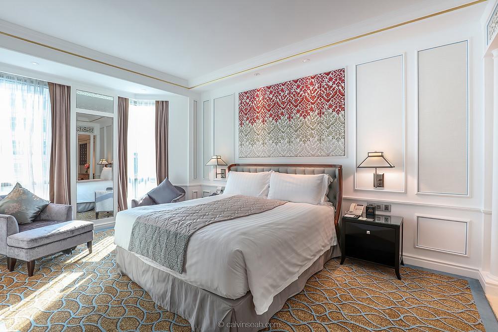 A classy bedroom!