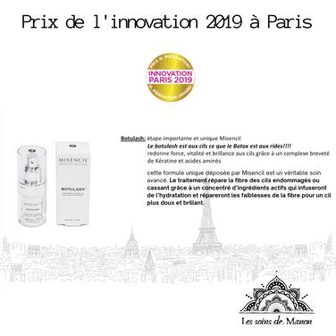 Misenlift gagne le prix d'innovation 2019 à Paris