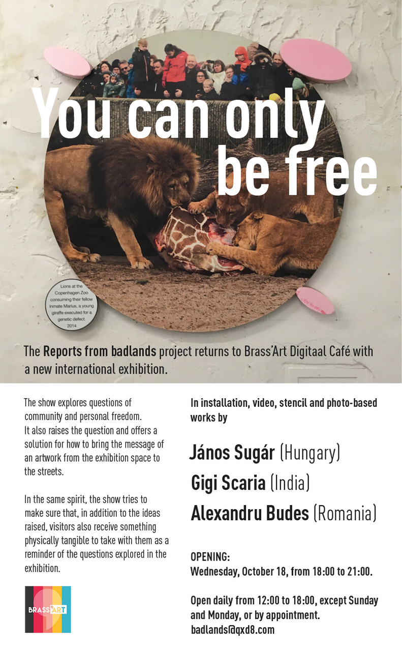 You can only be free invitation English 1