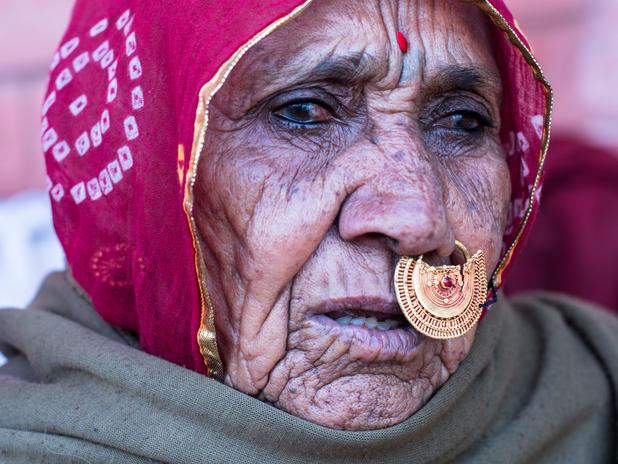 Femme bishnoi¨ Inde