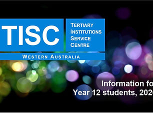 TISC Information for Year 12 Students in