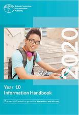 SCSA Year 10 Information Handbook 2020.j