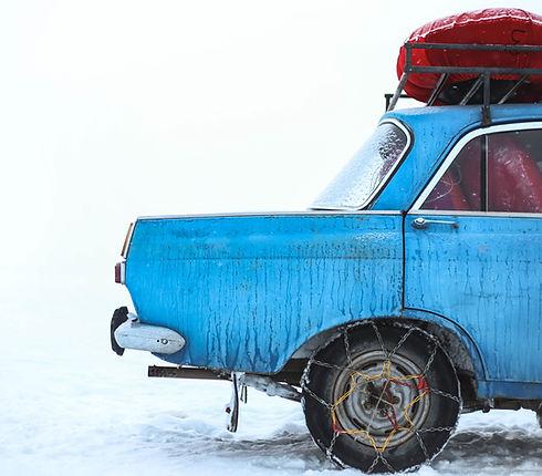 Conducir en la nieve