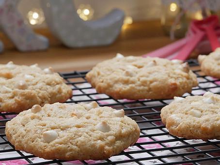 Cookie de Limão com Gotas de Chocolate Branco