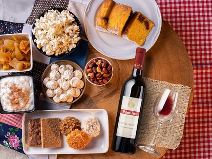 Festas Juninas e vinho!
