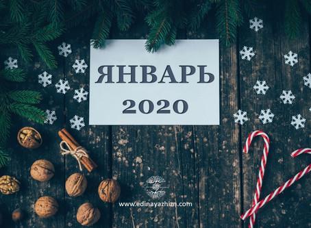 Вибрационный прогноз на январь 2020
