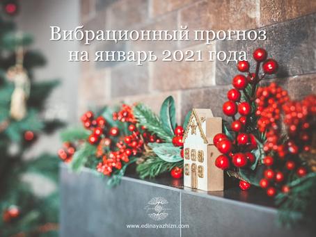 Вибрационный прогноз на январь 2021