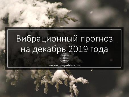 Вибрационный прогноз на декабрь 2019
