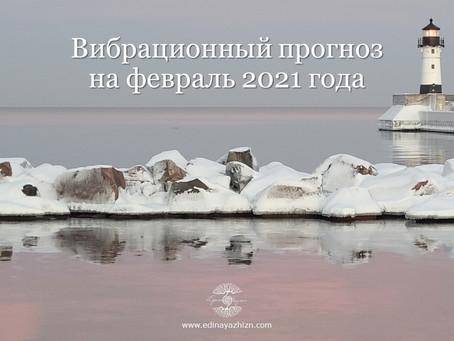 Вибрационный прогноз на февраль 2021