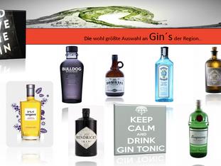 Getränke-Specials: Die wohl besten Gin's aus der Region...