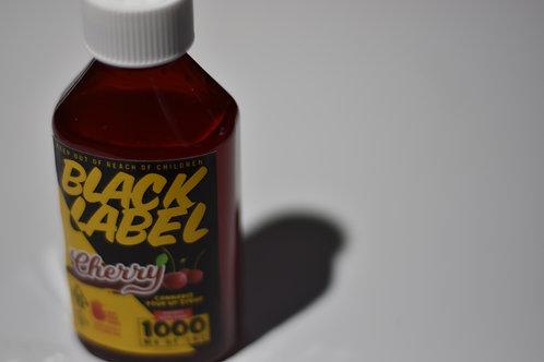 Black Label Syrup - Cherry 1000mg