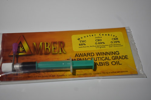 Delta Amber Cannabis Oil - Monster Cookies