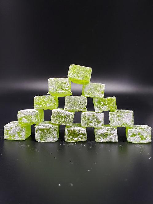 60mg - Lime Hard candy w/ Powder sugar