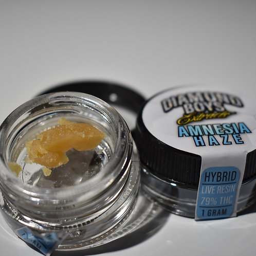 Diamond Boys - (1g) Amnesia Haze Live Resin