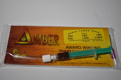 Delta Amber Cannabis Oil - Super Lemon Haze