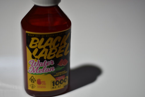 Black Label Syrup - Watermelon 1000mg
