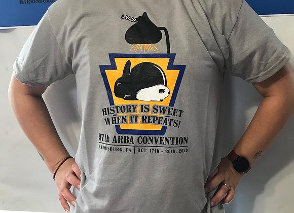 2020 ARBA National T-Shirt Gray