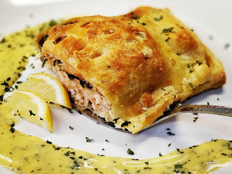 Bold Salmon en Croute (In Puff Pastry)