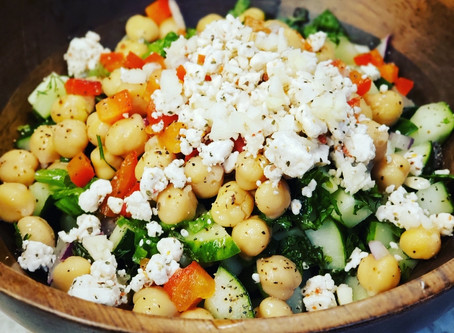 The Absolute Best Greek Cucumber Salad