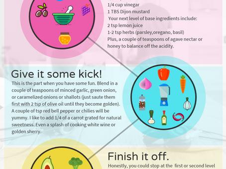 Salad Dressing - A creative process!