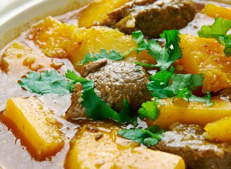 Orange Steak and Butternut Squash Stew