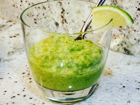 Cucumber-Avocado Gazpacho